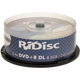 Ridisc 2,4x DVD+R Dl